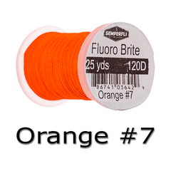 Semperfli Fluoro Brite Orange #7