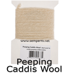 Semperfli Specialist Fly Tying Wools Peeping caddis wool