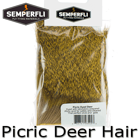 Semperfli Picric Roe Deer Hair