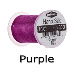Semperfli Nano Silk 18/0 Purple