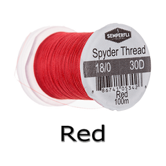 Semperfli Spyder Thread Red