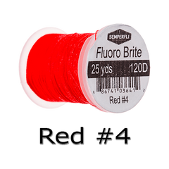 Semperfli Fluoro Brite Red #4