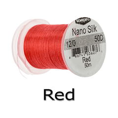 Semperfli 12/0 Red Nano