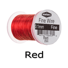 Semperfli Ultrafine Wire Red