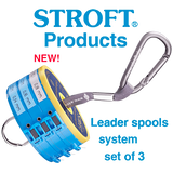 Stroft 3 or 5 Leader Spools Complete System New Version