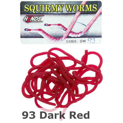 Hends Squirmy Worms #93 Dark Red