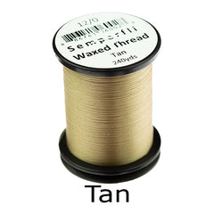 Semperfli Waxed Thread 12 0 Tan