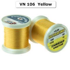 Hends Ultra Fine Tying Thread - 0.04mm Yellow