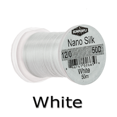 Semperfli 12/0 White nano