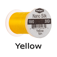 Semperfli Nano Silk 18/0 Yellow