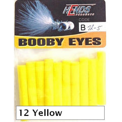Hends Booby Eyes 5mm yellow