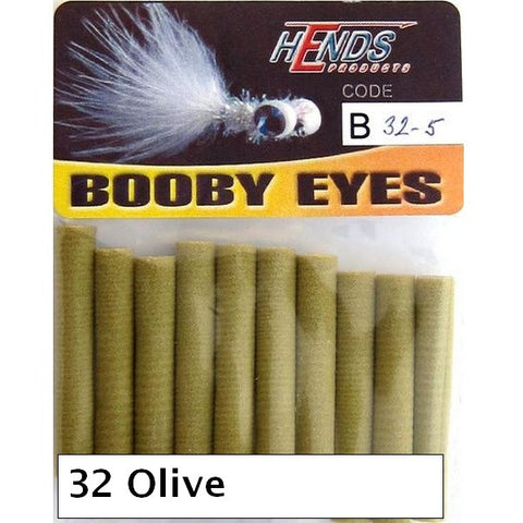 Hends Booby Eyes 5mm olive