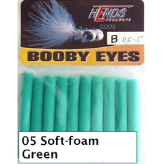Hends Booby Eyes 5mm soft green