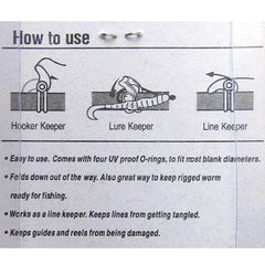 Fuji EZ Line Keepers instructions