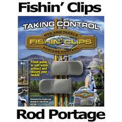 Fishin'Clips Fishing Rod Portage Tool by Grasshopper Products USA