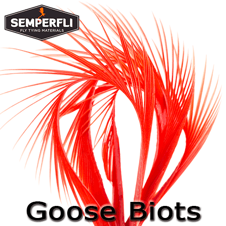 Semperfli Goose Biots Red
