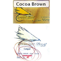 Catgut for Nymph Bodies Cocoa