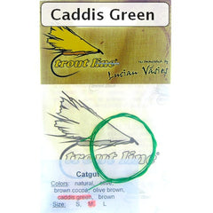 Catgut for Nymph Bodies caddis green
