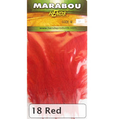 Hends Marabou red