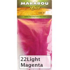 Hends Marabou light magenta