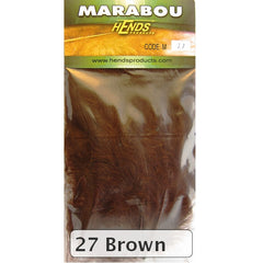 Hends Marabou brown