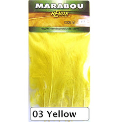 Hends Marabou Yellow