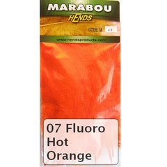 Hends Marabou fluoro hot orange