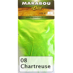 Hends Marabou chartreuse