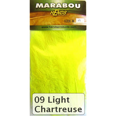 Hends Marabou light chartreuse