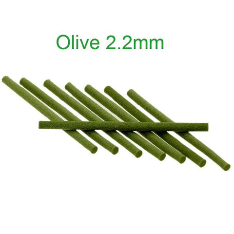 Micro Foam Cylinders Olive 2.2mm