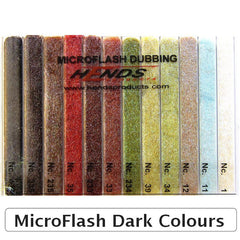 Hends Micro Flash Dubbing Dispenser dark colours