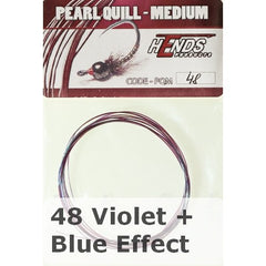 Hends Pearl Quill Medium violet and blue effect