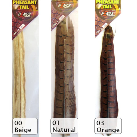 Pheasant Center Tails 13 Colours