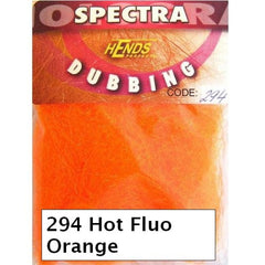 Hends Spectra Dubbing Packets Hot Fluo Orange