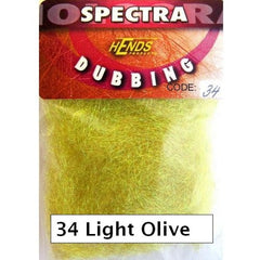 Hends Spectra Dubbing Packets light olive