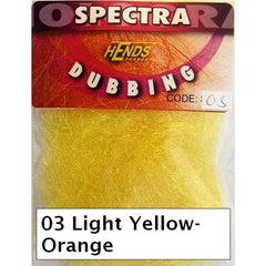 Hends Spectra Dubbing Packets light orange