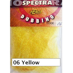 Hends Spectra Dubbing Packets Yellow