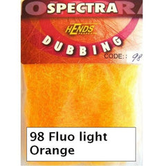 Hends Spectra Dubbing Packets fluo light orange