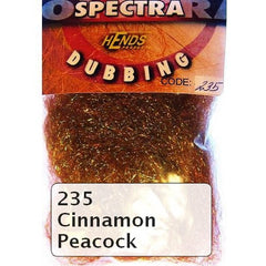 Hends Spectra Dubbing Packets Cinnamon Peacock