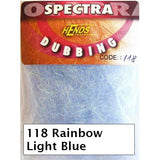 Hends Rainbow Spectra Dubbing Packets 13 Colours
