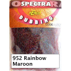 Hends Rainbow Spectra Dubbing Packets maroon