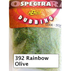 Hends Rainbow Spectra Dubbing Packets olive