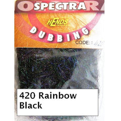 Hends Rainbow Spectra Dubbing Packets black
