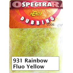 Hends Rainbow Spectra Dubbing Packets fluo yellow