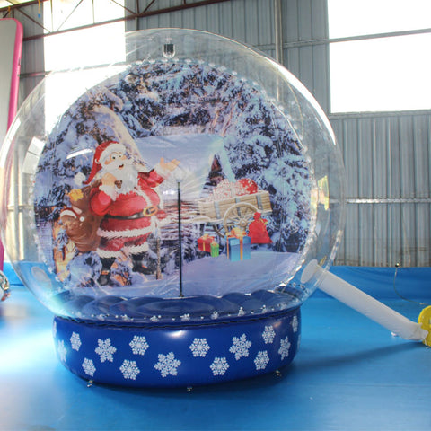Christmas Blow Up Snow Globe  AMSG1