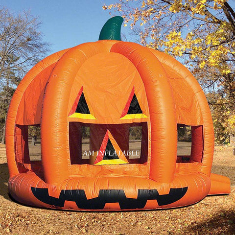 Pumpkin Inflatable Bounce House Jumping Castle For Halloween AMBC1c