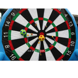 PVC Sealed Inflatable Soccer Dart 2.5 m H Foot Dart AMSD2