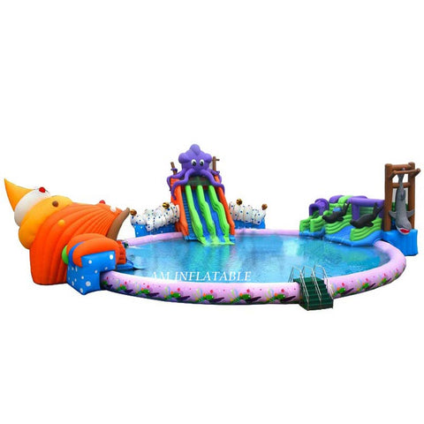 PVC inflatable water park AMWP2