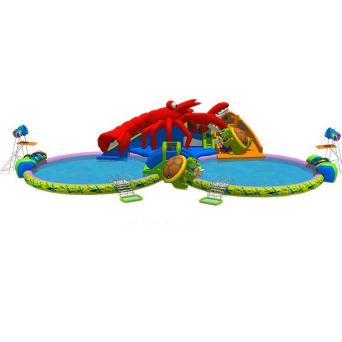 Adult Inflatable Commercial Water Park AMWP6