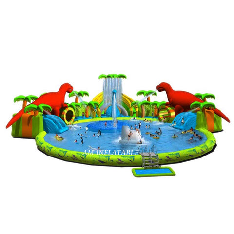 Attractive Inflatable Commercial Water Slide Pool Water park AMWP3
